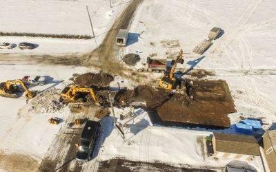 Constructions 2 Triplex à Saint-Liboire