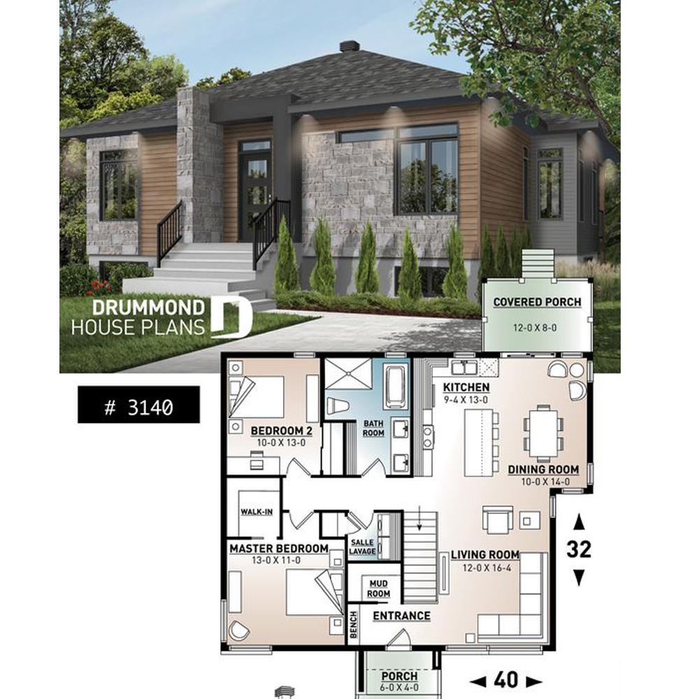 Plan De Maison Plan De Chalet Plan De Garage 10