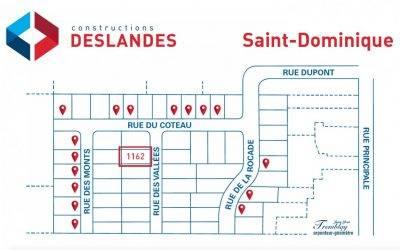 Nouvelle maison modèle à Saint-Dominique