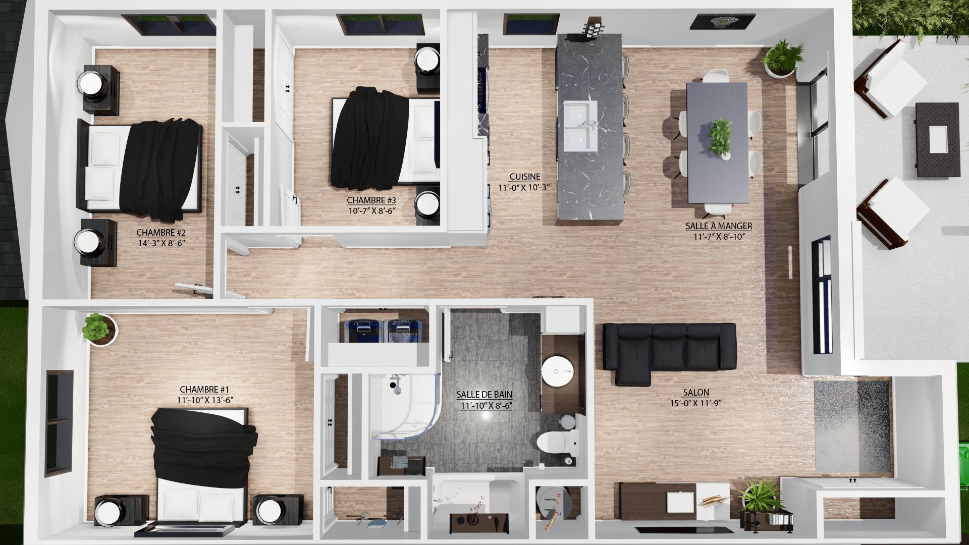 Projet domiciliaire l'Émileville - Constructions Deslandes